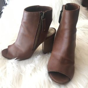 Madden Girl open toe booties